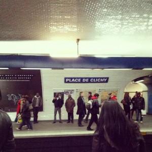 Place de Clichy Metro