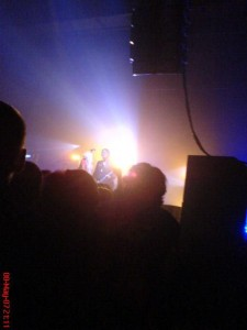 Manics 2007, Cambridge