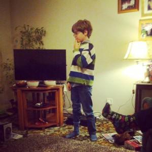 The littlest nephew - Christmas, 2013