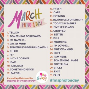 MARCH-photoaday